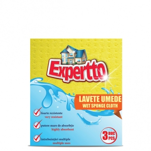 Expertto Wet Sponge Cloth