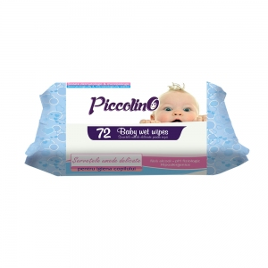 PICCOLINO WET WIPES BLUE