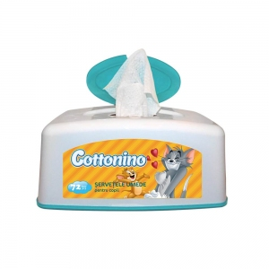 COTTONINO BOX FOR WET WIPES TOM& JERRY