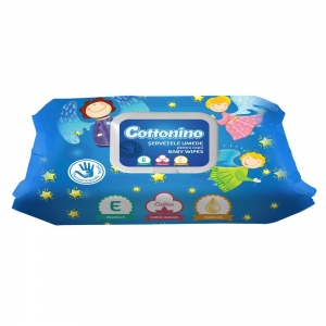 COTTONINO SERVETELE UMEDE BLUE