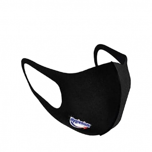 Hygienium Reusable Face Mask Black
