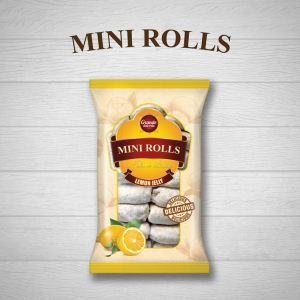MINI-ROLLS WITH LEMON JELLY