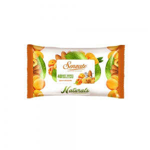 SENZATE SERVETELE UMEDE APRICOT AND ALMOND