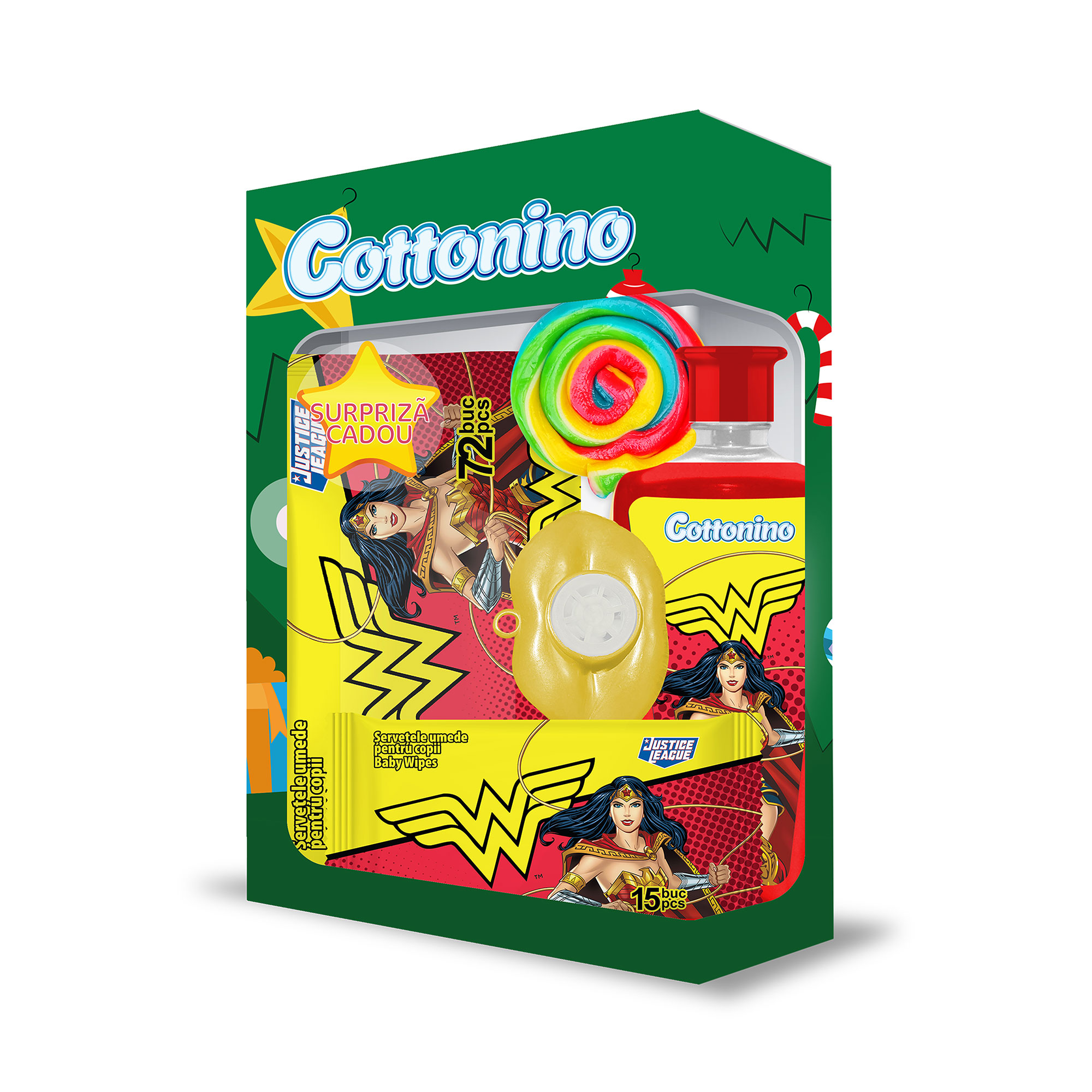Cottonino Gift Box WONDER WOMEN