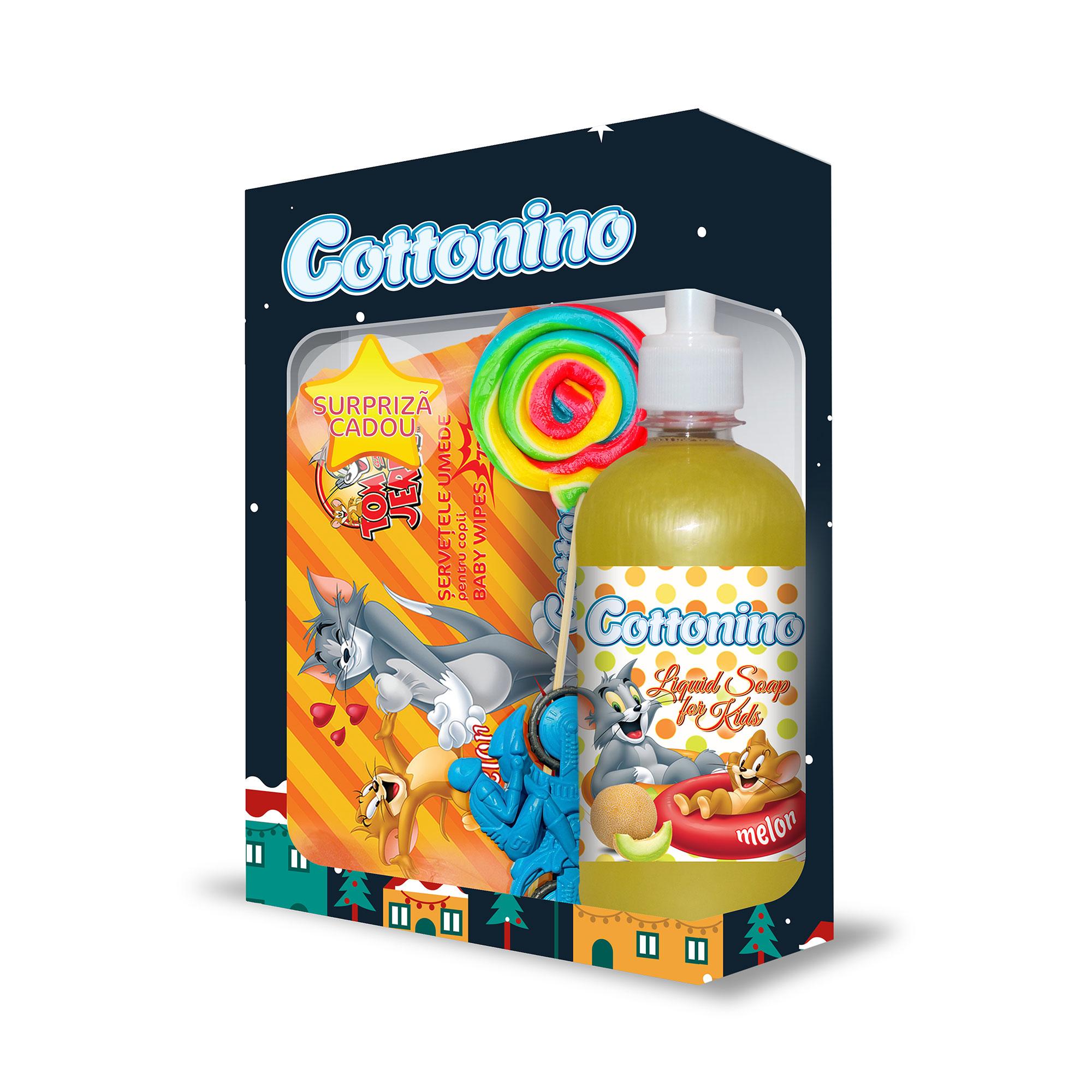 Cottonino Gift Box Tom & Jerry Melon