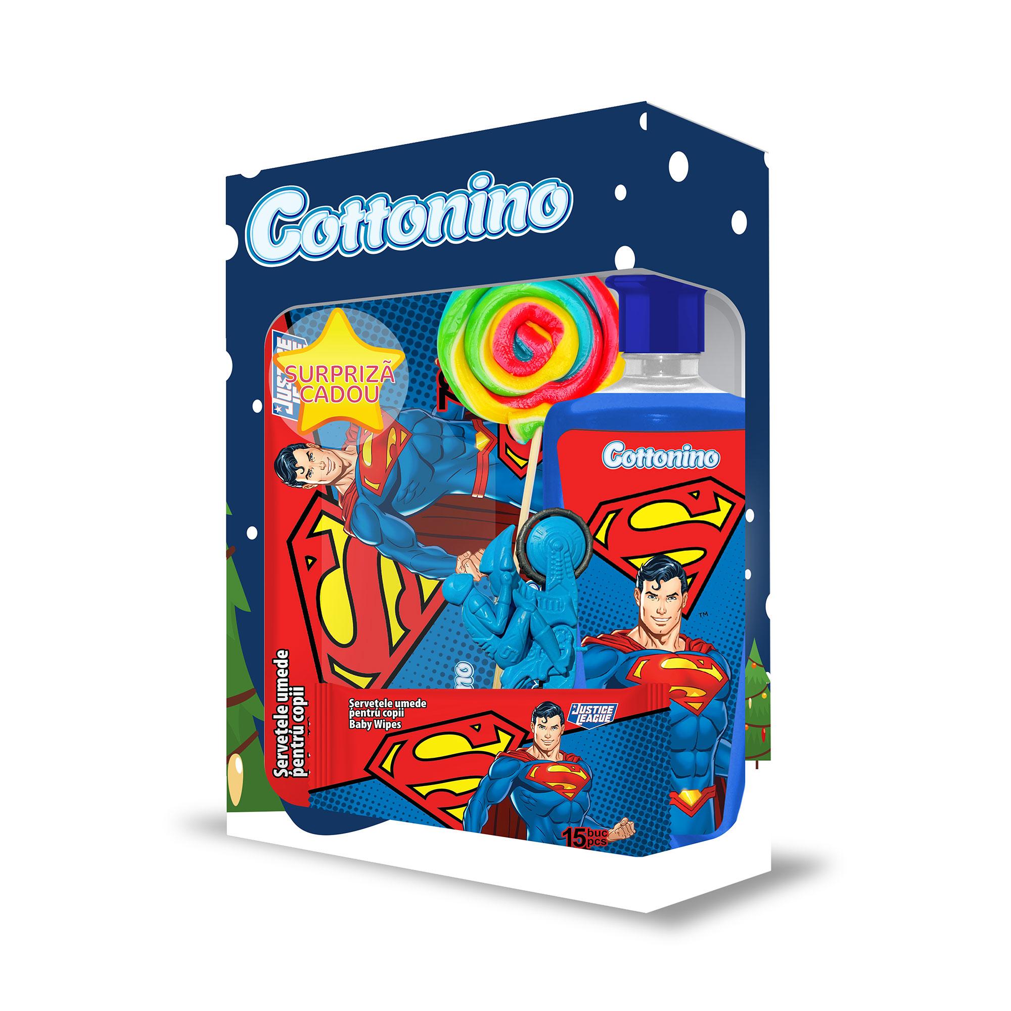 Cottonino Set Cadou JUSTICE LEAGUE SUPERMAN