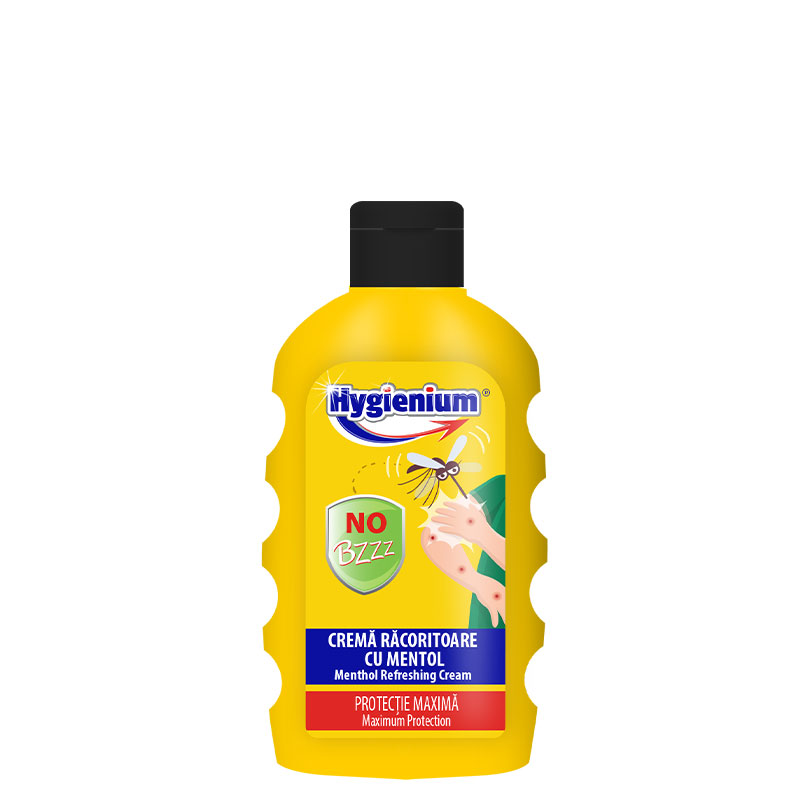 Hygienium No Bzz Crema Racoritoare cu Mentol 200ml
