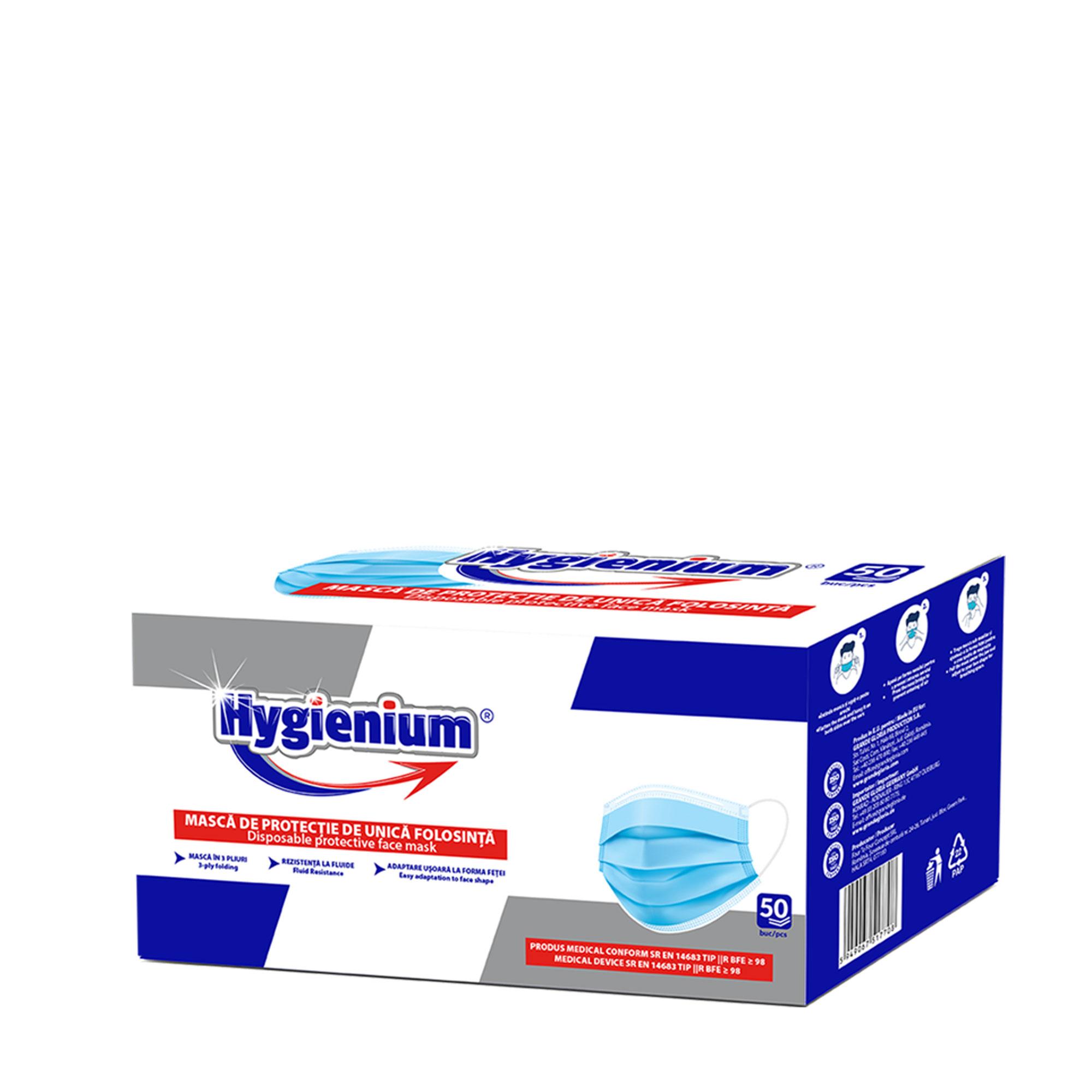 Hygienium Masti de Unica Folosinta 50 pcs box