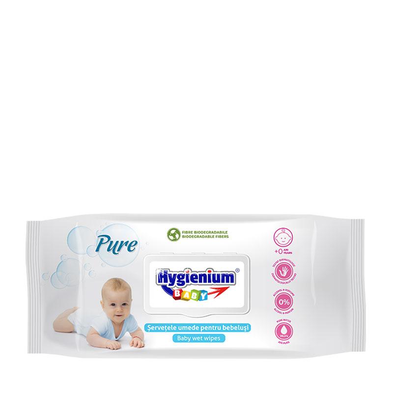 Hygienium BABY Pure Servetele Umede 80pcs
