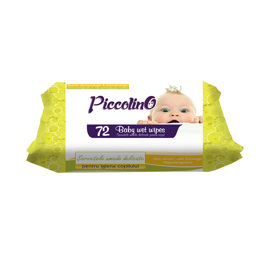 PICCOLINO WET WIPES GREEN