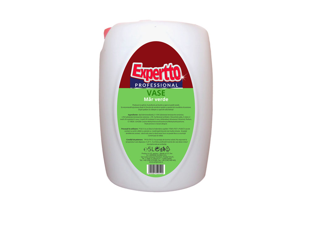 Expertto Detergent de Vase Mar