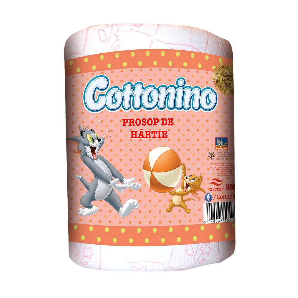 COTTONINO ROLE BUCATARIE TOM& JERRY