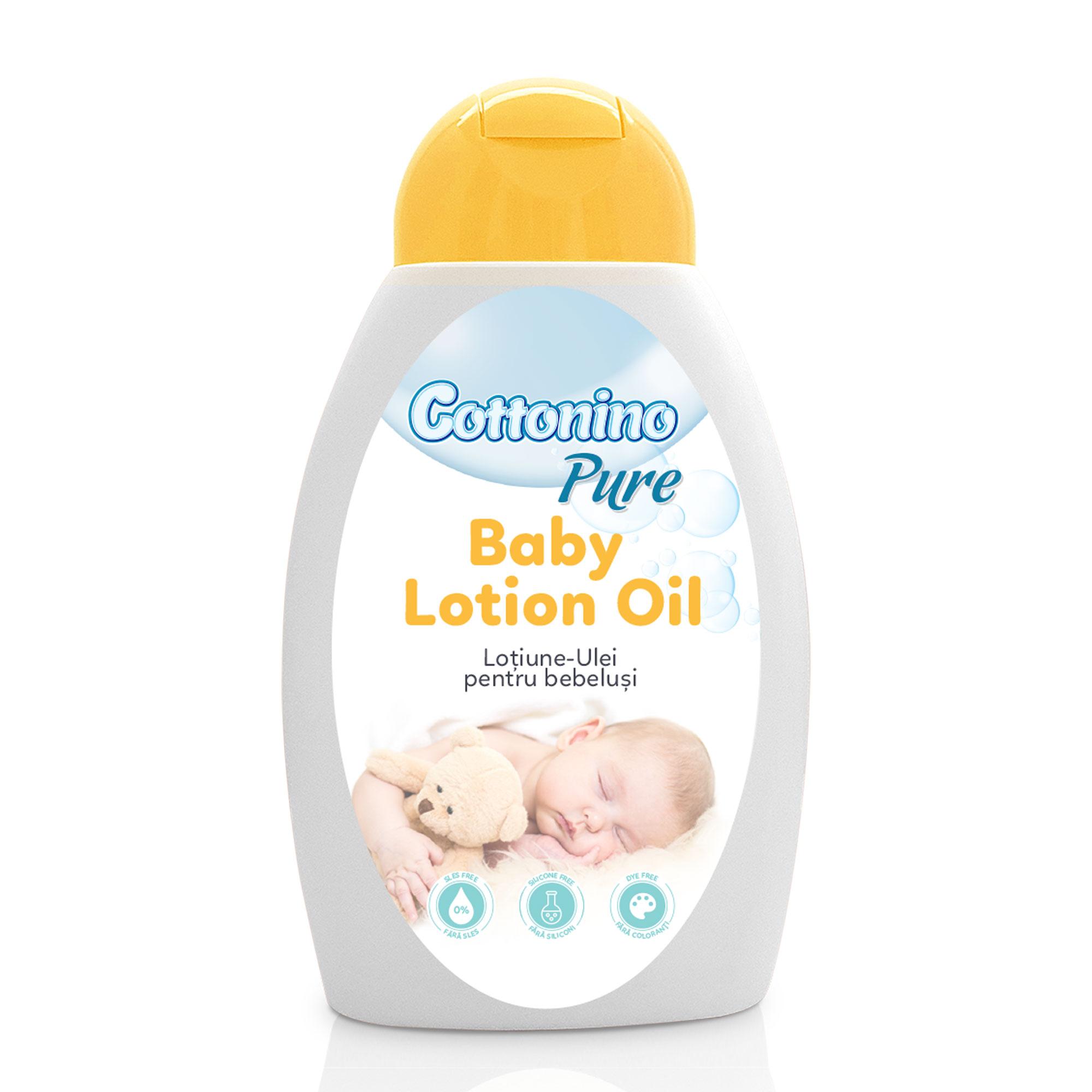 Cottonino Pure Lotiune-Ulei pentru Bebelusi