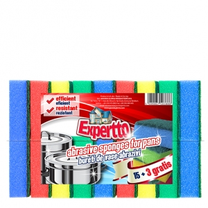 Expertto Abrasive Sponges for Pans