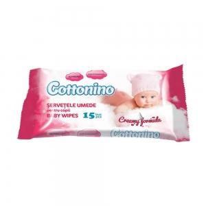 COTTONINO BABY WIPES POCKET PINK