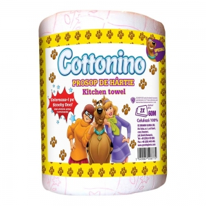 COTTONINO KITCHEN TOWELL ROLL SCOOBY DOO 1