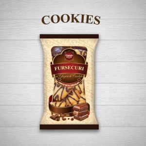 COOKIES COATED WITH CHOCOLATE