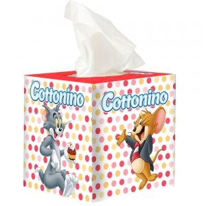 COTTONINO TISSUE BOX T&J ORANGE